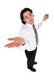 Man gesturing Royalty Free Stock Photography