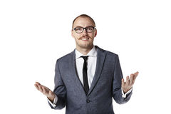 Man gesturing with hands Stock Photos