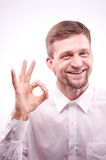 Man gesturing Stock Photos