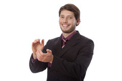 Man gesturing Royalty Free Stock Images
