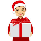 Man Gift Giving Stock Images