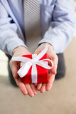 Man gift Stock Photography