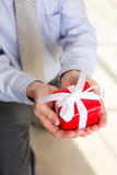 Man gift Stock Photo