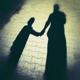 Man and girl Stock Image
