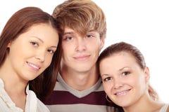 Man and girls Royalty Free Stock Photos