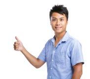 Man give thumb up Royalty Free Stock Photography