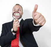 Man giving approval Stock Image