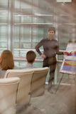 Man Giving Business Presentation Royalty Free Stock Image