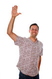 Man giving High five Stock Images