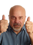 Man giving thumbs up Stock Image