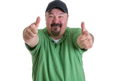 Man Giving Thumbs Up Hand Gesture Royalty Free Stock Photos