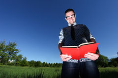 A man in glasses Royalty Free Stock Image