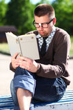 A man in glasses Stock Photography