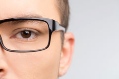 Man in glasses. Stock Photos