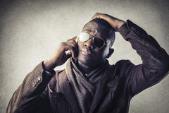 Man with glasses Royalty Free Stock Images