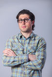 Man in glasses Stock Photography