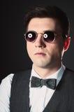 Man in glasses Stock Image