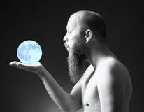 Man with Goatee Beard Stock Photography