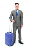 Man going on a business trip Stock Photo