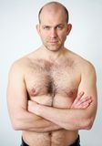Man is in good shape Royalty Free Stock Image