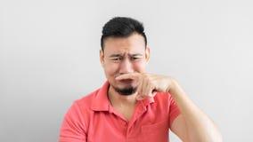 Man got bad smell. Stock Photo