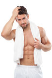 Man with great body Royalty Free Stock Photos