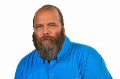 Man with groomed beard Stock Photos
