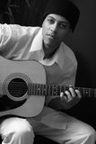 Man with Guitar Royalty Free Stock Photography