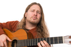Man with guitar Royalty Free Stock Photo