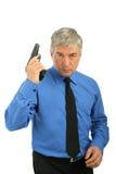 Man with a gun Royalty Free Stock Image