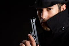 Man with Gun Stock Images