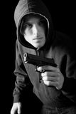 Man gun Royalty Free Stock Image