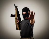 Man with gun Stock Photos
