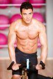Man at the gym Stock Photos
