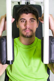 Man in gym Stock Photography