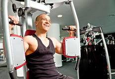Man gym fitness Royalty Free Stock Photo