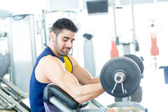 Man at the gym Royalty Free Stock Photo