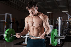 Man at the gym. Stock Photography