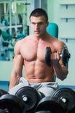 Man at the gym Royalty Free Stock Photo