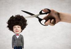Man hair cut Stock Photo