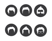 Man hairstyle element icon vector illustration. Design vector illustration