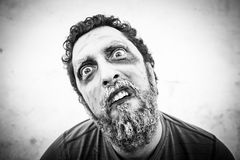 Man in halloween Royalty Free Stock Photography
