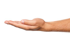 Man hand Stock Photo