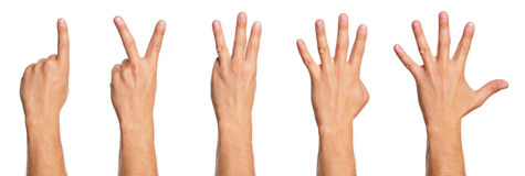 Man hand Stock Image