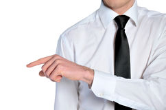Man hand grab Stock Images