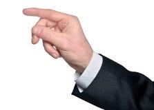 Man hand grab Stock Photo
