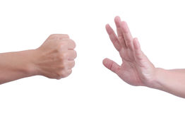 Man hand. Royalty Free Stock Photo