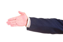 Man hand sign Royalty Free Stock Images