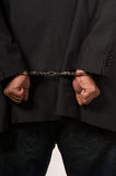 Man in handcuffs Royalty Free Stock Photo