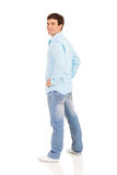 Man hands on hips Stock Photography